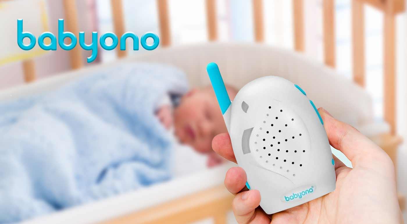 Elektronická opatrovateľka BabyOno - upozorní vás na krik vášho dieťatka, keď práve nie ste v miestnosti