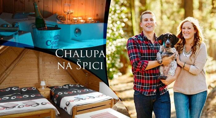 Fotka zľavy: Jarné prechádzky a súkromné wellness - užite si pohodové chvíle v Chalupe na Špici v dedinke Oudoleň v krásnej prírode Českomoravskej vrchoviny. V cene je privátna sauna aj vírívka.