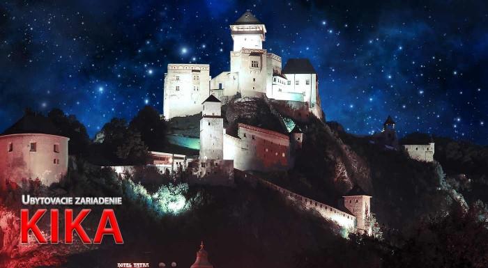 Fotka zľavy: Návšteva Trenčína je vždy dobrý nápad. Urobte si výlet na 1, 2 či 3 noci do mesta pod hradom Matúša Čáka a ubytujte sa v apartmáne v ubytovacom zariadení KIKA.