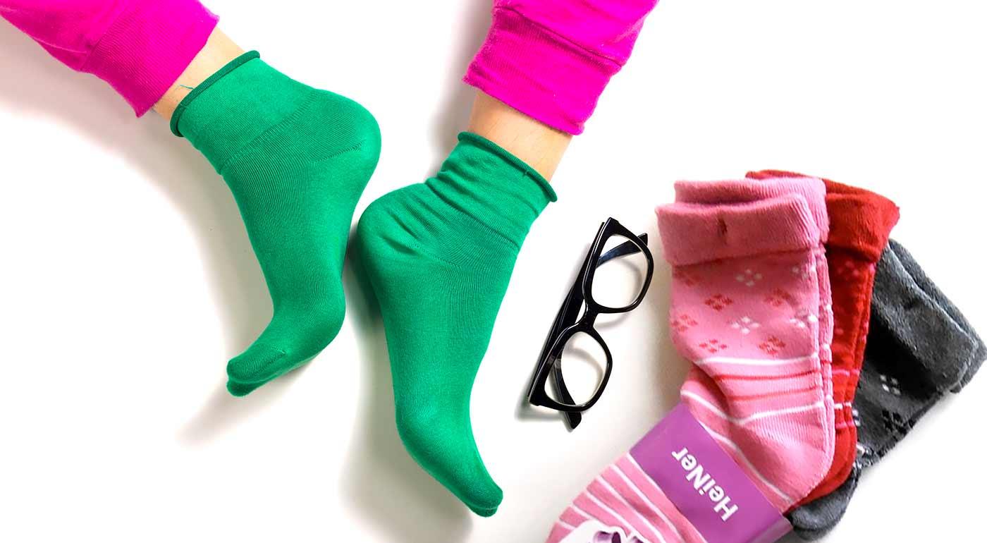 Balenie 6 párov bambusových termo ponožiek pre dámy