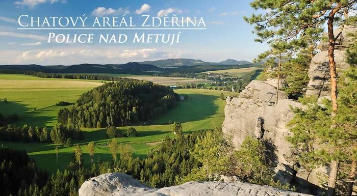 Fotka zľavy: Rodinný výlet do lona prírody na 3, 4, 5 alebo 6 dní s polpenziou a ubytovaním v moderných chatkách Zděřina pri Adršpachu už od 49 €. Naberte stratenú energiu v tichu a zeleni!