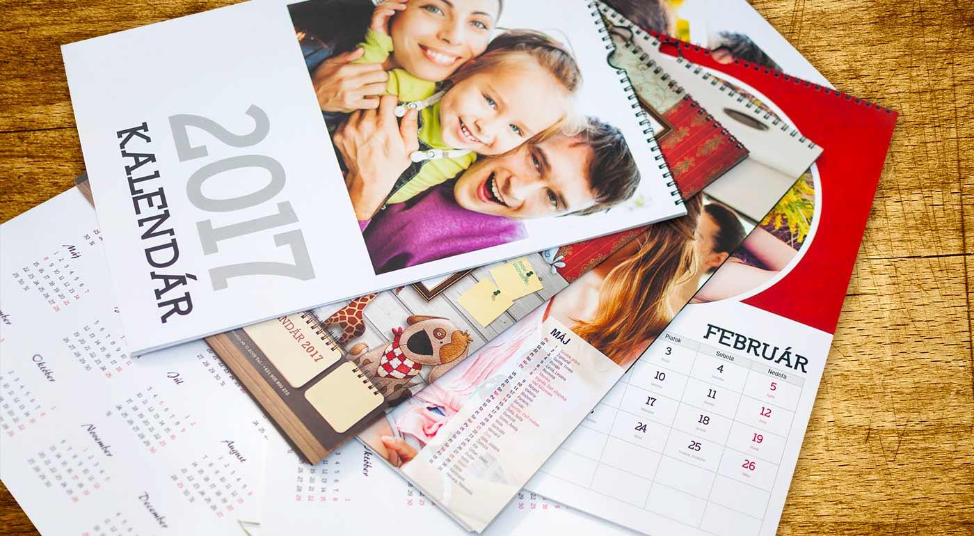 Nástenné kalendáre s vlastnou fotografiou - využite akciu 2+1 ZADARMO