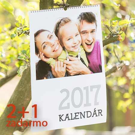 Kalendár A4 2+1 zadarmo (platí pre 3 rovnaké výtlačky)