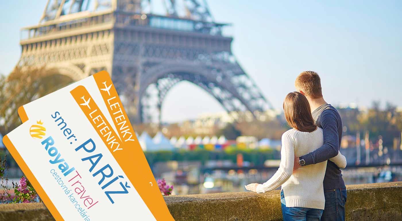 Letecký poznávací zájazd do Paríža na 5 dní