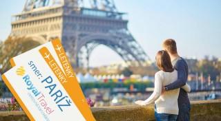 Zľava 60%: Nechajte sa uniesť krásami Paríža, očarujúceho mesta na Seine. Vyberte sa spolu so sprievodcom na letecký poznávací zájazd za šarmom metropoly Francúzska.