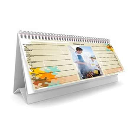 Stolový kalendár týždenný (52 strán + 1 titulná)