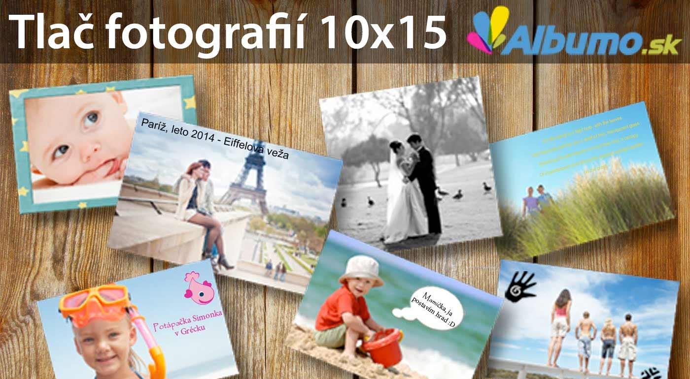 Tlač 300 ks fotografií na FujiFilm fotopapier o rozmere 10 x 15 cm za 24,90 €