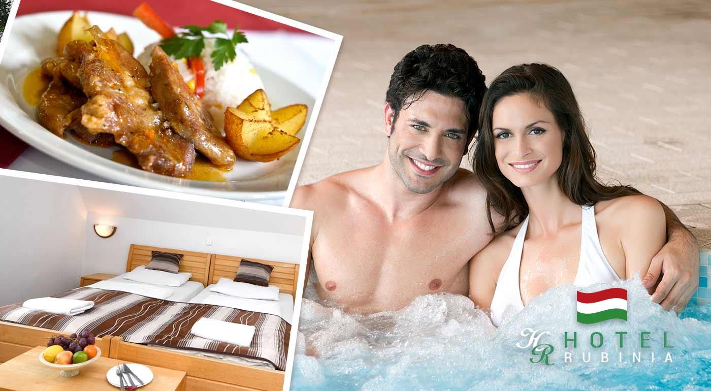 Nájdite vo dvojici pokoj pre dušu a oddych pre telo v Maďarsku v pohodlí Hotela Rubinia Panzió v kúpeľnom meste Eger