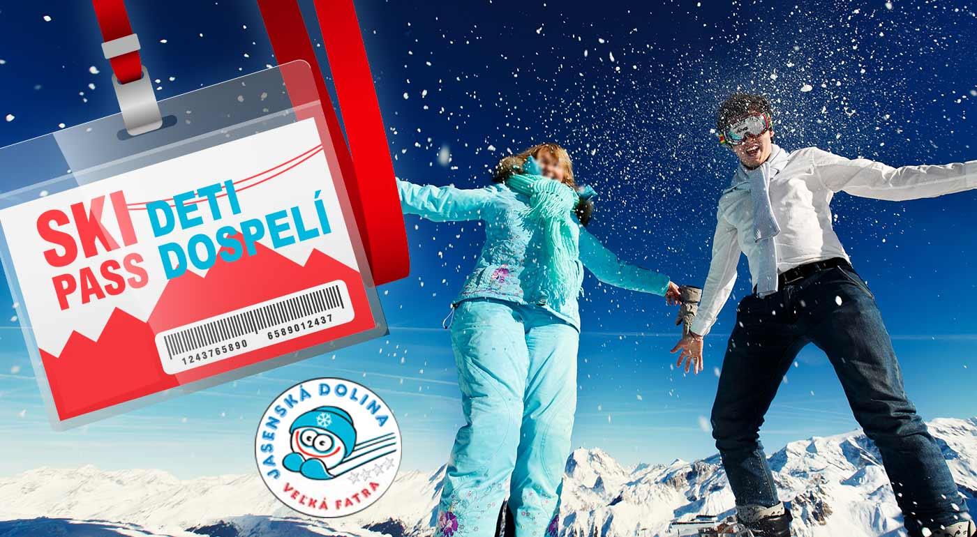 Fotka zľavy: Skipas na 3 hodiny v lyžiarskom stredisku KAŠOVÁ v Jasenskej doline. Užite si zimu, ako sa patrí! Lístky pre deti i dospelých.