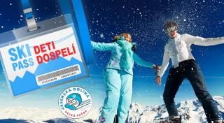 Zľava 40%: Skipas na 3 hodiny v lyžiarskom stredisku KAŠOVÁ v Jasenskej doline. Užite si zimu, ako sa patrí! Lístky pre deti i dospelých.