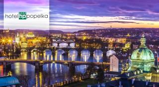 Zľava 35%: Urobte si výlet do Prahy. Je jedno či je váš prvý alebo dvadsiaty prvý - metropola Česka má vždy čo ponúknuť. Privíta vás útulný Hotel Popelka **** s dobrou dostupnosťou do centra mesta.