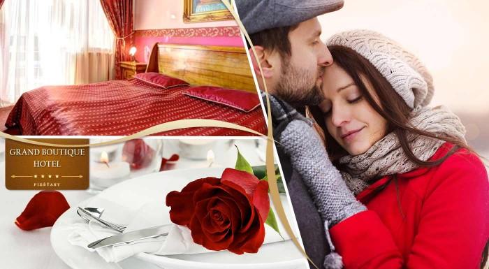 Fotka zľavy: Čo by ste povedali na trochu luxusu a romantiky? Nie len trochu ale rovno priehrštia zažijete v elegantnom Grand Boutique Hoteli Sergijo**** v Piešťanoch.