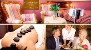Zľava 55%: Doprajte svojim rodičom skvelý pobyt v piešťanských kúpeľoch s plnou penziou a wellness! Čaká ich oddych na 3, 4 alebo 5 dní v luxusnom Grand Boutique Hoteli Sergijo****.