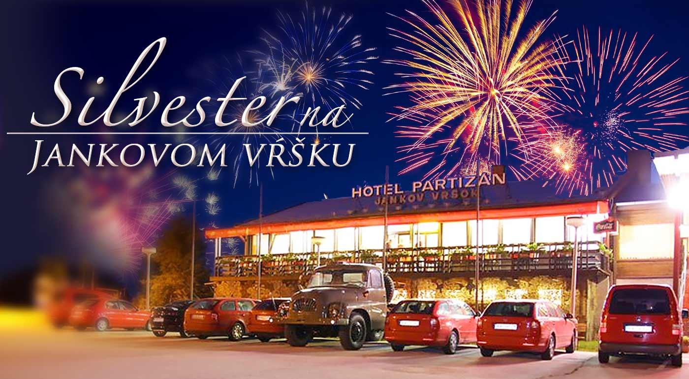 Silvestrovský pobyt so zábavou, živou hudbou, plnou penziou a wellness nad Uhrovcom v Hoteli Partizán Jankov Vŕšok na 3 dni