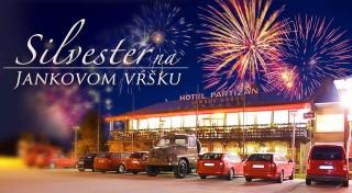 Zľava 46%: Užite si posledné chvíle roka 2016 v pohodlí Hotela Partizán neďaleko Uhrovca. Čaká vás silvestrovské menu, výborný wellness a nádherná príroda Strážskeho pohoria.