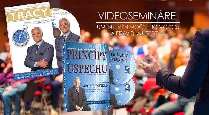 """Fotka zľavy: Vyberte sa na cestu za úspechom a naplňte každý váš cieľ na 110 %. Videosemináre  """"The success Principles – Pravidlá úspechu"""" alebo Brian Tracy - Umenie výnimočného vodcu na DVD!"""