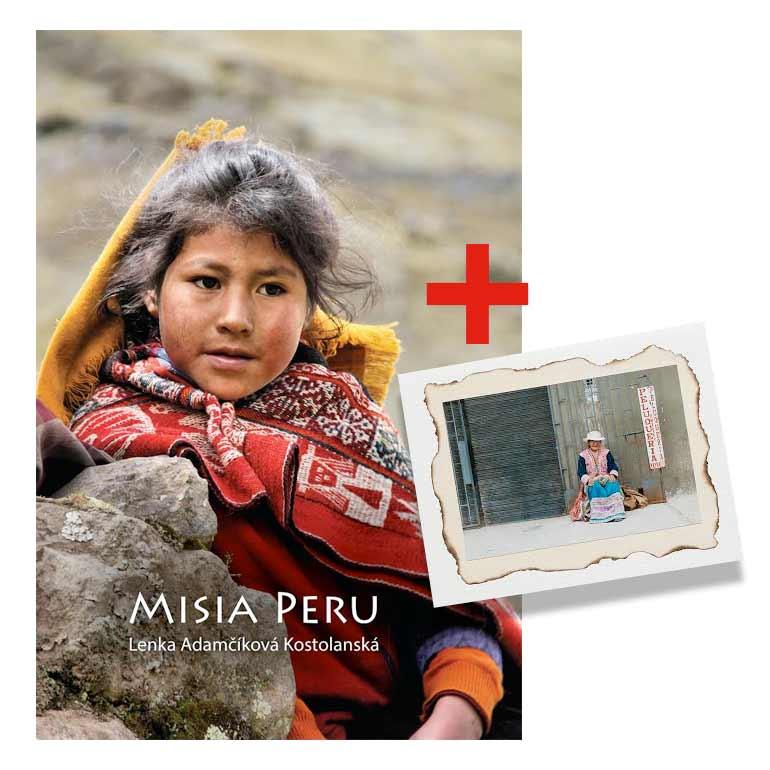 Cestopis Lenka Adamčíková Kostolanská: Misia Peru + pohľadnica pre prvých 10 zákazníkov