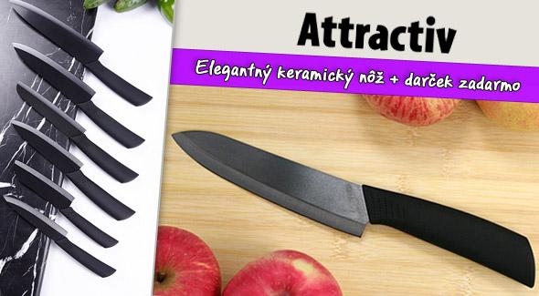 Keramický nôž vrátane poštovného a balného + darček navyše zdarma