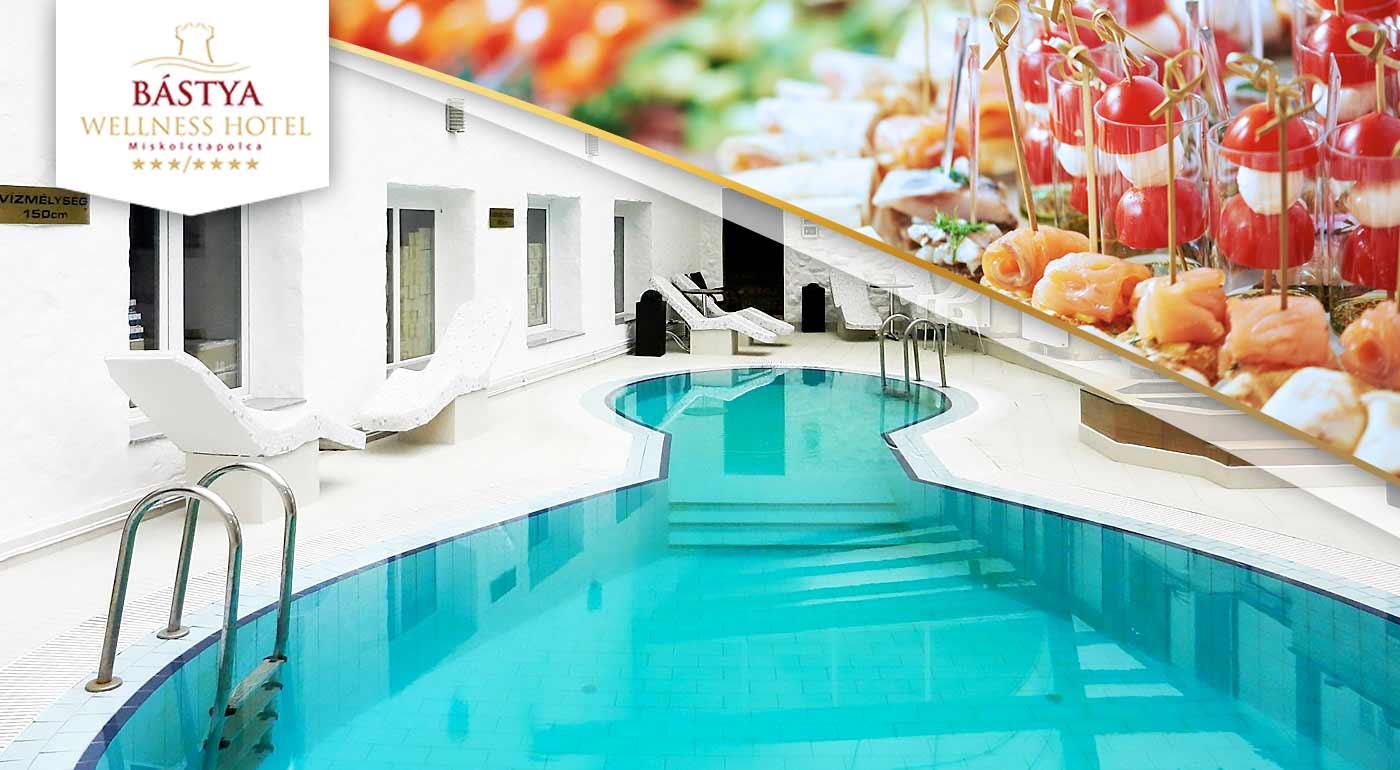 Wellness pobyt v Bástya Wellness Hotel***/**** v Maďarsku plný relaxu pre dvojicu v srdci kúpeľného mestečka Miskolctapolca