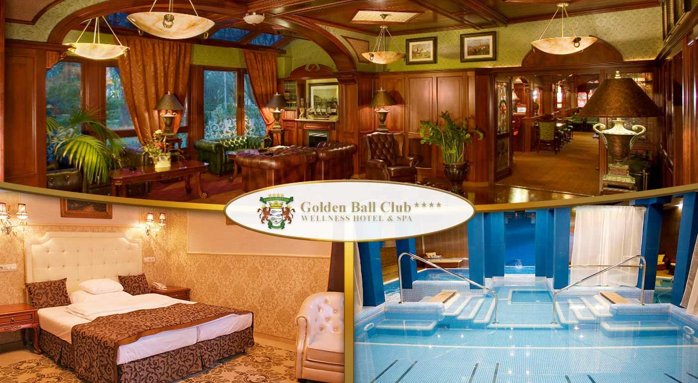 Fotka zľavy: Horúci oddych u južných susedov v centre maďarského Győru v luxusnom Golden Ball Club**** Wellness & Spa Hotel. Čaká na vás polpenzia, Wellness oáza, Saunový ostrov a fitness!