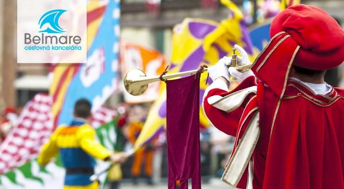 Fotka zľavy: Urobte si nezabudnuteľný výlet na historický festival Slávnosti päťlistej ruže do Českého Krumlova a navštívte Zámok Hluboká či mesto Třeboň. Úžasný 3-dňový pre nadšených cestovateľov.