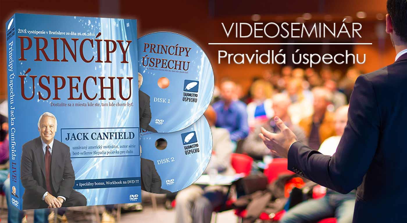 """Videoseminár """"The success Principles – Pravidlá úspechu"""" už aj na Slovensku"""