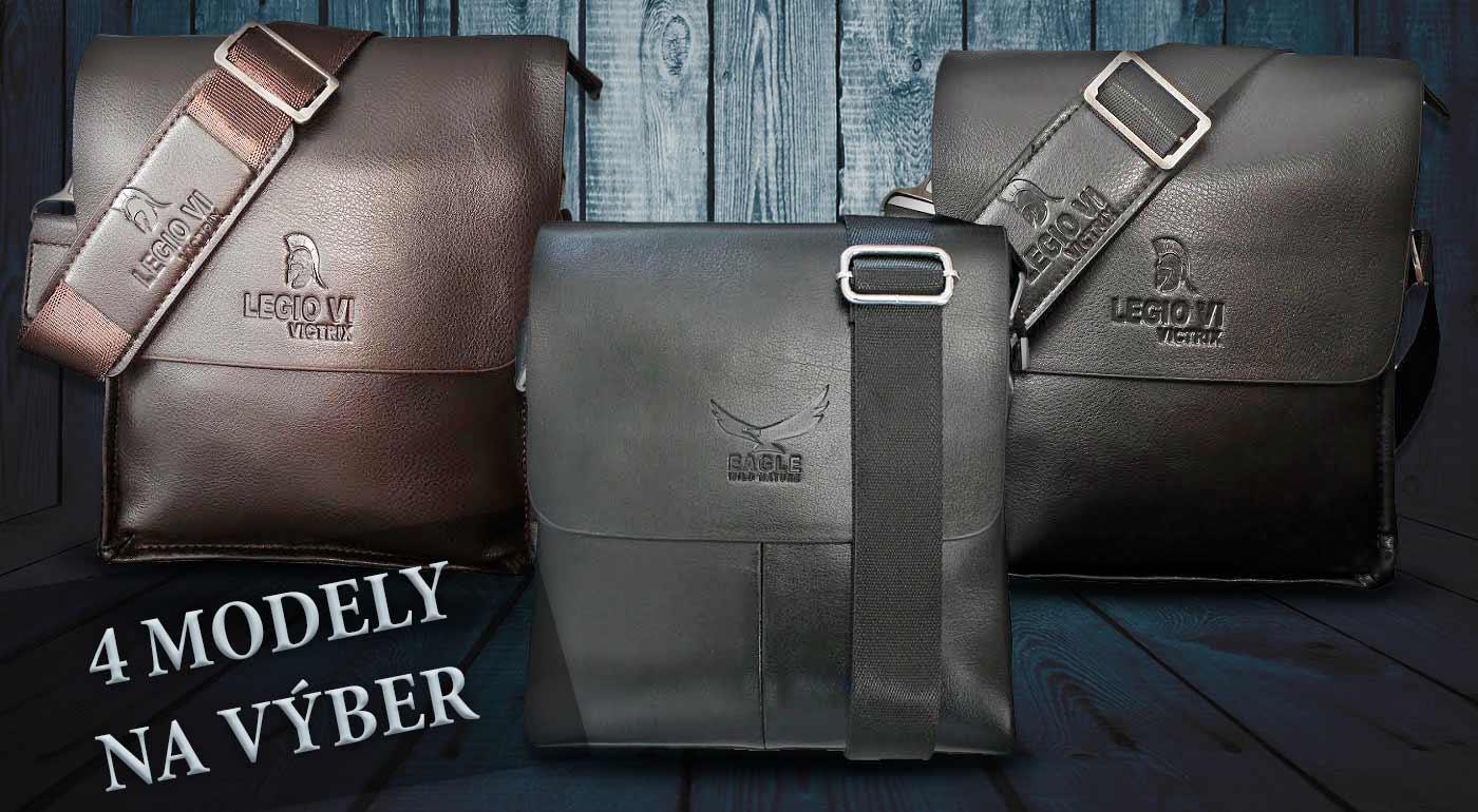 6fe97c4cbb Elegantné pánske tašky cez rameno Legio VI Victrix alebo limitovaná séria  Eagle od Kangaroo Kingdom