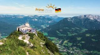 Zľava 43%: Urobte si jednodňový výlet na chatu samotného Adolfa Hitlera. Orlie hniezdo ponúka neskutočný výhľad na Bavorské Alpy a čaká vás aj plavba po smaragdovom jazere Königsee.