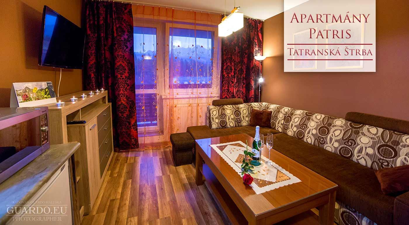 Užite si zimné radovánky v pohodlí moderného Apartmánového domu Patris v Tatranskej Štrbe