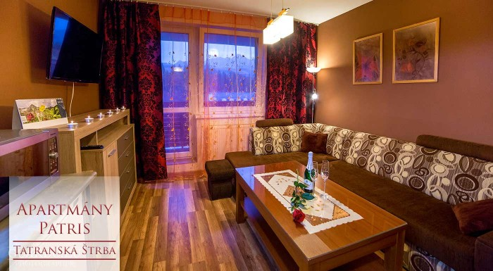 Fotka zľavy: Máte vysoké očakávania od ubytovania? Apartmánový dom Patris predčí všetky vaše predstavy. Užite si naše veľhory v pohodlí luxusného zariadenia s úchvatným výhľadom.