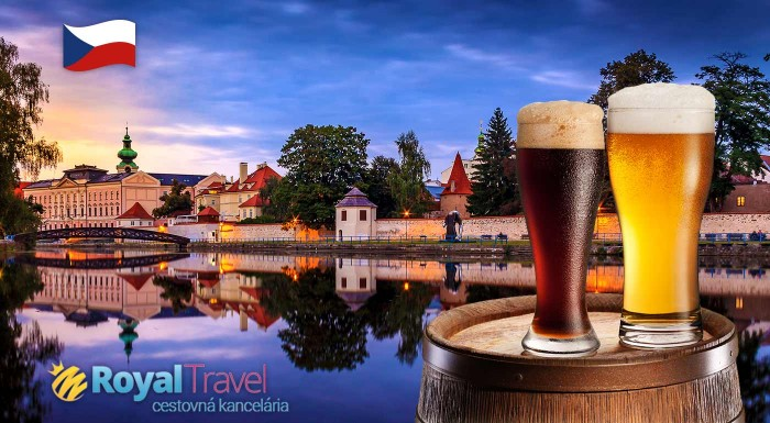 Fotka zľavy: Urobte si poznávací víkend v Česku. Nechajte sa uchvátiť krásou zámku Hluboká, tradíciou v českobudějovickom pivovare a výlet zakončíte v naozjastnom klenote českých miest - Českom Krumlove.