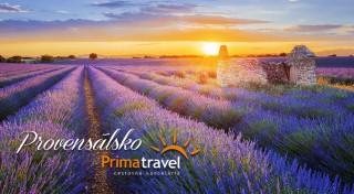 Zľava 19%: Vôňa levandule, jemný morský vánok a dychberúce mestá Provensálska. Vyberte sa spoznávať Južné Francúzsko s CK Prima Travel.