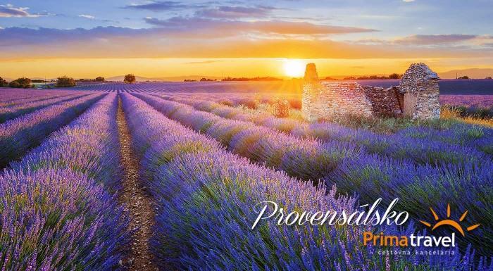 Fotka zľavy: Vôňa levandule, jemný morský vánok a dychberúce mestá Provensálska. Vyberte sa spoznávať Južné Francúzsko s CK Prima Travel.
