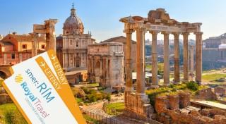 Zľava 54%: Prezrite si na vlastné oči miesta, kde sa diala fascinujúca história rímskeho impéria na zájazde do Ríma s CK Royal Travel. V cene ubytovanie aj letecká doprava!