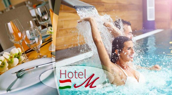 Fotka zľavy: Horúca zima vo Wellness Hotel-M**** v Hajdúszoboszló v bezprostrednej blízkosti kúpeľov Hungarospa. Raňajky, neobmedzený wellness, zľava na masáž a vstup do zážitkových kúpeľov Aqua Palace.