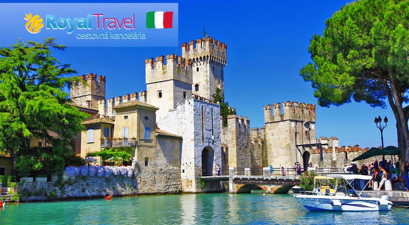 Zasnené Benátky, vášnivá Verona a rozprávkové Gardské jazero v rámci 5-dňového zájazdu