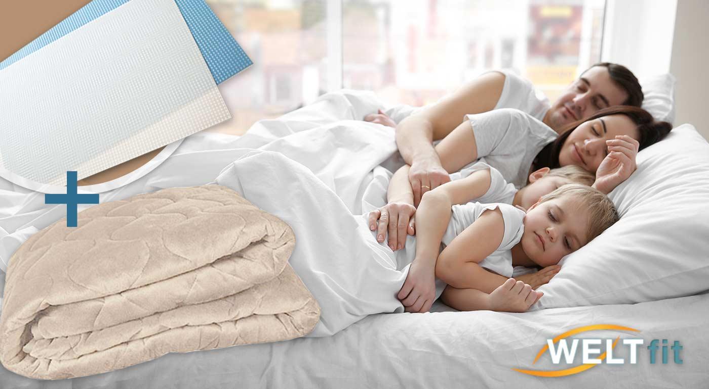 Fotka zľavy: Praktická vyhrievacia podložka na matrac zlepšuje kvalitu spánku, zdravie, šetrí životné prostredie i vašu peňaženku. Dostupná v 2 rozmeroch. Na výber i kupón s darčekom.