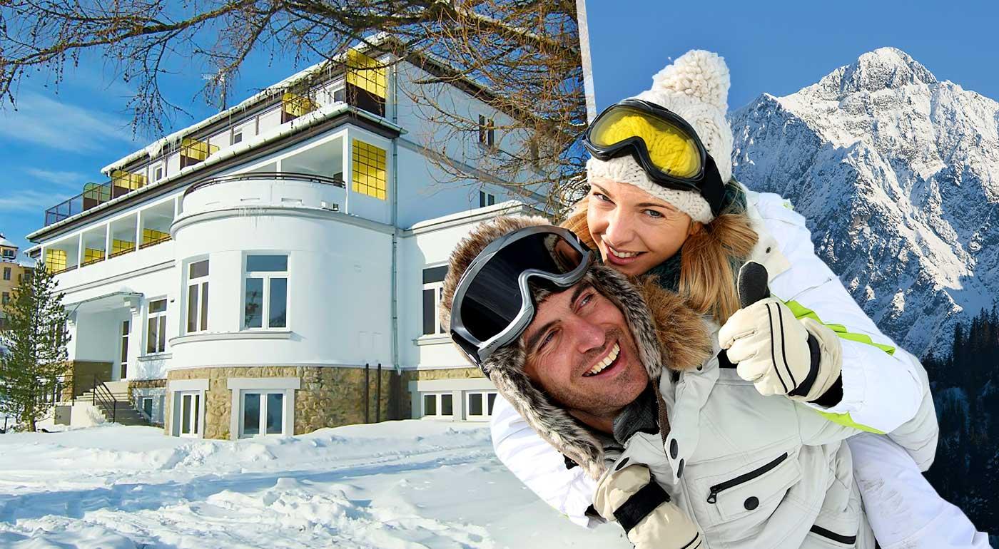 Bezchybná tatranská zima v Penzióne Poľana*** - pobyt s polpenziou, wellness a možnosťami na lyžovačku