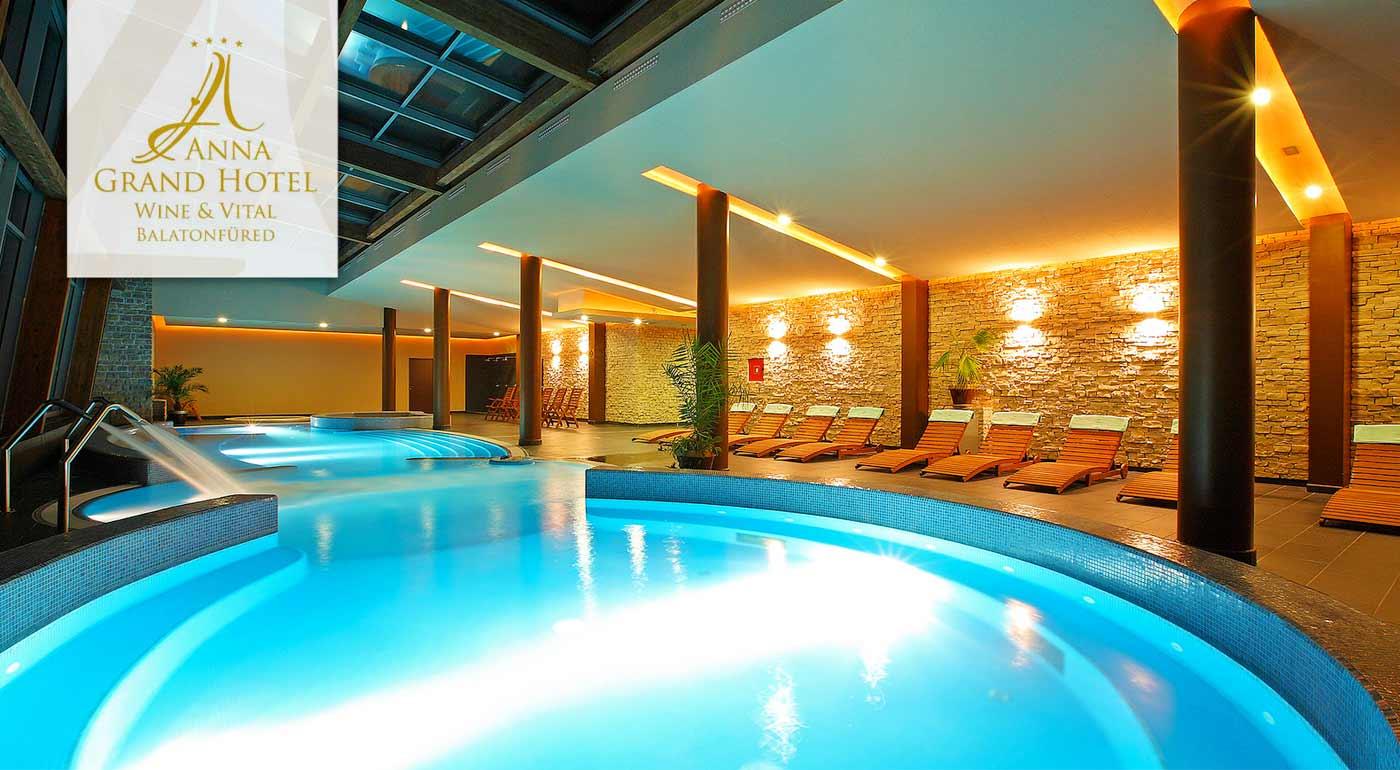 Maďarsko a Balaton v luxusnom Anna Grand Hotel**** Wine & Vital s polpenziou - pobyt za jedinečnú cenu plný wellness aktivít