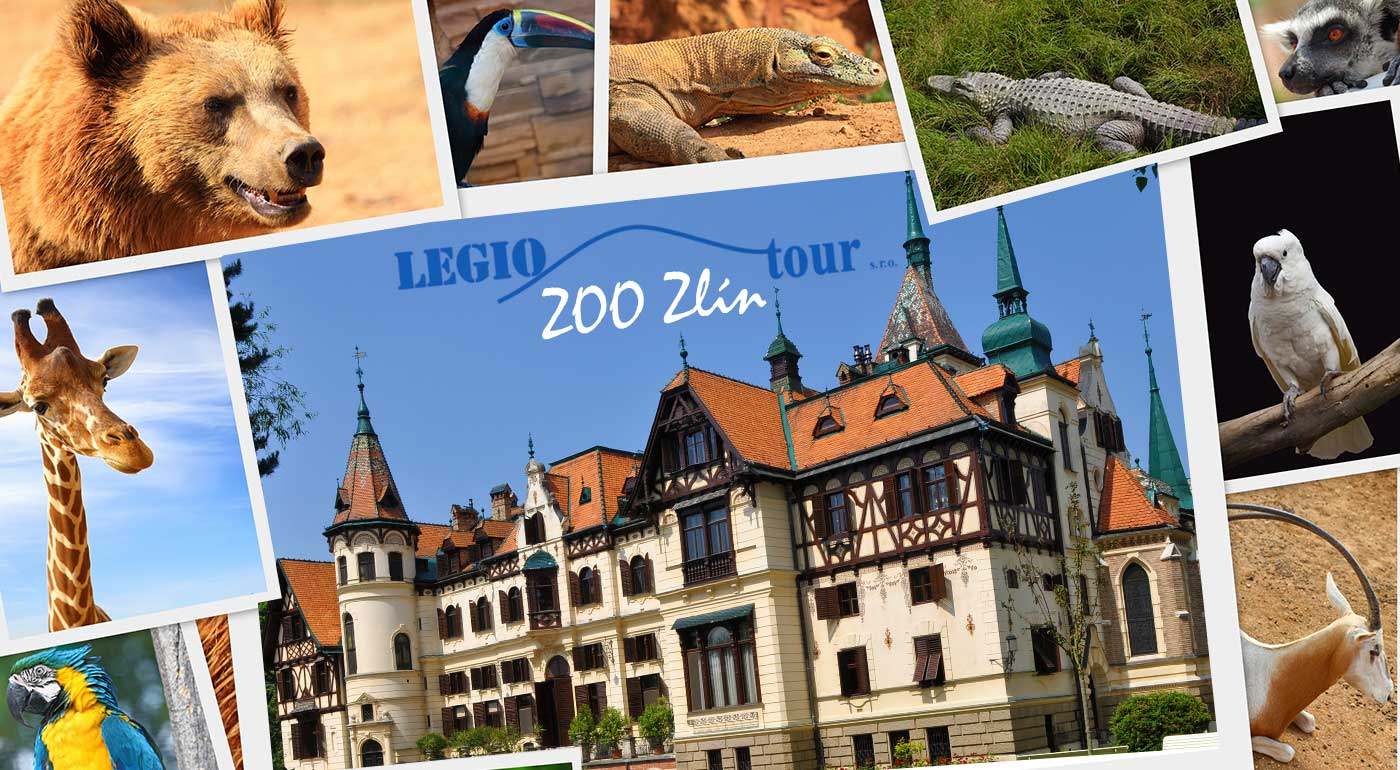 Fotka zľavy: Urobte si rodinný výlet do Zlína, len kúsok od hraníc. Uvidíte jednu z najkrajších zoologických záhrad v celom Česku a najmladší zámok Lešná.