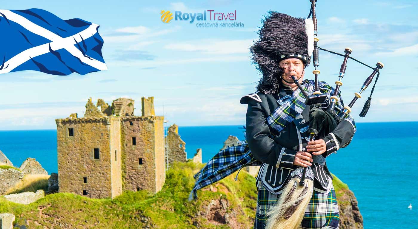 Letecký poznávací zájazd do Škótska - Po stopách legendy o Statočnom srdci
