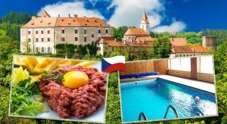 Zľava 48%: Vyrazte za hranice a užite si skvelý pobyt na Morave v útulnom Penzióne Grasel s balíčkom wellness, aktívneho oddychu a vynikajúcej polpenzie.