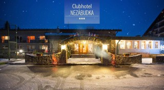 Zľava 55%: Nezabudnuteľná zima vás čaká v Clubhoteli*** Nezábudka. Vyberte sa prežiť zopár dní v lone prírody so skvelým servisom v podobe polpenzie alebo all inclusive, neobmedzeným wellness a ďalšími službami.
