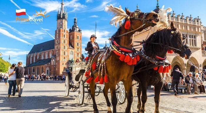 Fotka zľavy: Urobte si výlet do Krakowa a objavte jeho veľkolepé kráľovské dedičstvo. Vyberte sa na zájazd s CK Prima Travel a navštívite aj svetoznámu soľnú baňu Wieliczka či rodné mesto Jána Pavla II. Wadowice.