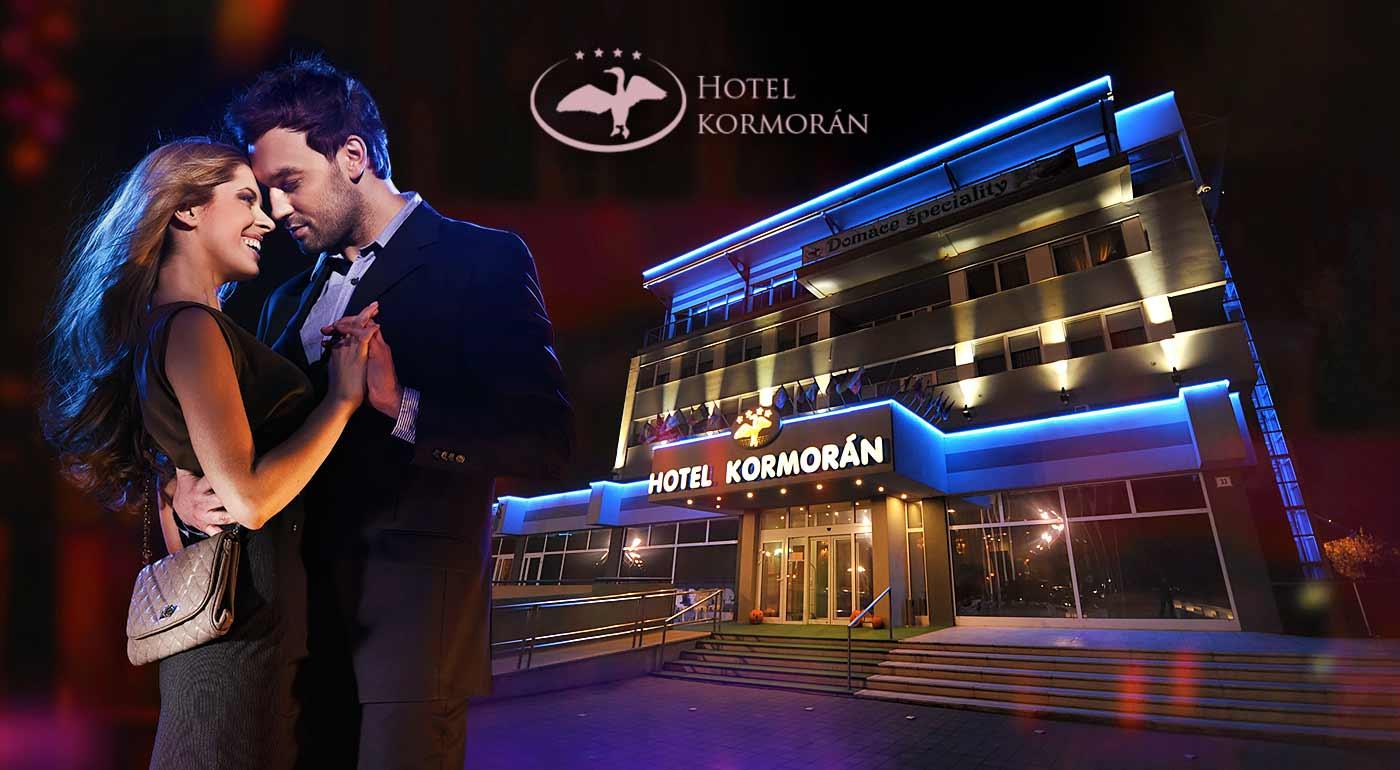 Zľava  Hotel Kormorán**** volá všetkých zamilovaných