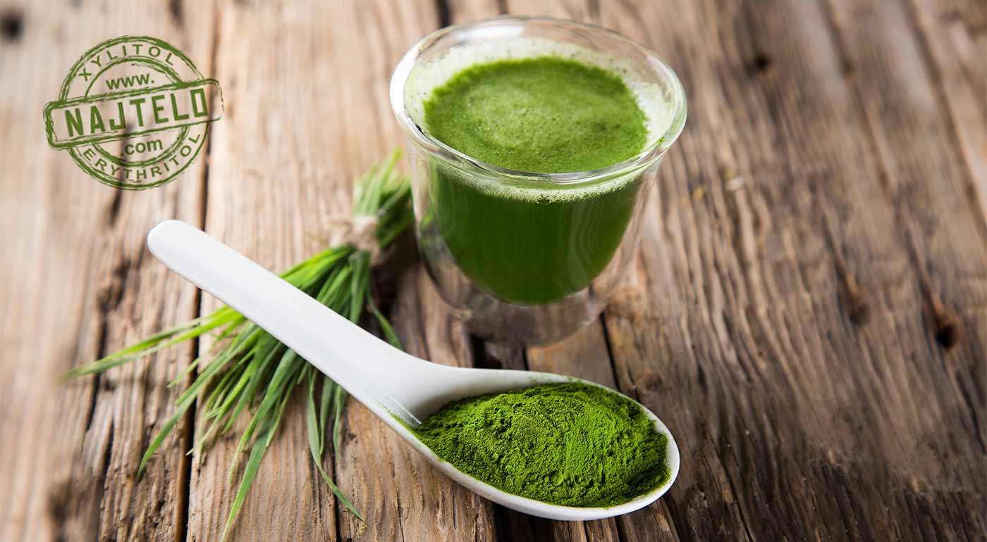 Mladý zelený jačmeň - extra dávka vitamínov a minerálov z prírody