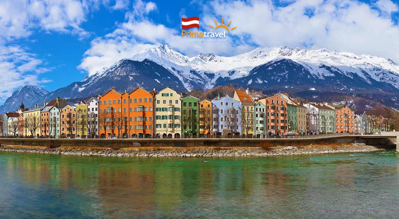 Poznávací zájazd do rakúskeho Innsbrucku s návštevou Swarovského sveta krištáľov