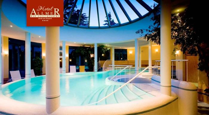 Fotka zľavy: Zoberte si voľno a vyberte sa do wellness raja v Rakúsku - len 2,5 hodiny od Bratislavy. Luxusný 4* Wellnesshotel Allmer v kúpeľnom raji Bad Gleichenberg vás pozýva prežiť nezabudnuteľné dni!