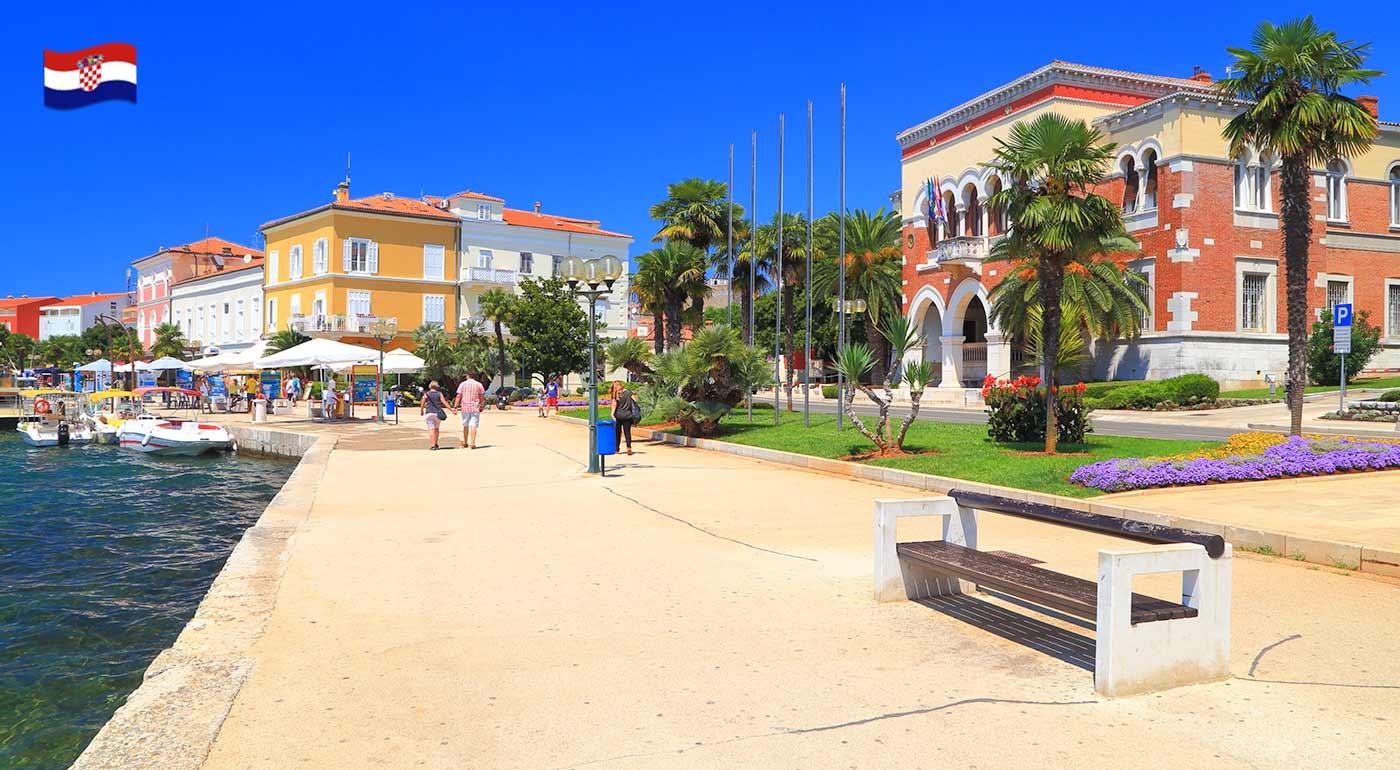 Chorvátsko: Slnečná letná dovolenka v meste Poreč s ubytovaním vo vilkách v stredisku Zelená Lagúna