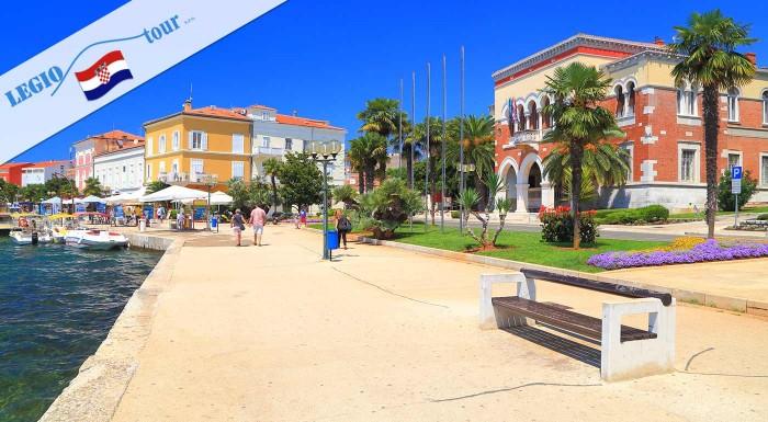 Fotka zľavy: Užite si krásne chvíle s rodinou pri chorvátskom mori. Liečivý slaný vzduch, píniové lesíky a priezračne čisté more vás dostanú späť do formy. Doprajte si slnečné chvíle v meste Poreč.